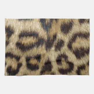 Estampado leopardo toallas