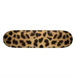Estampado leopardo monopatín personalizado