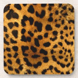 Estampado leopardo posavaso