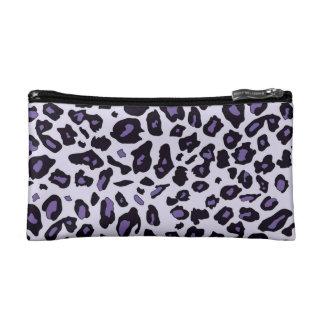 Estampado leopardo púrpura