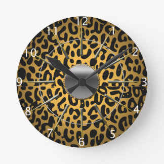 Estampado leopardo relojes