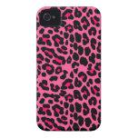 Estampado leopardo rosado punky
