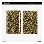 Estampado leopardo pegatinas skins para kindle fire