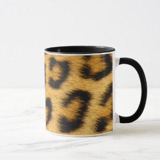 Estampado leopardo taza