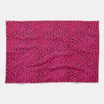 Estampado leopardo Towel* de las rosas fuertes Toalla