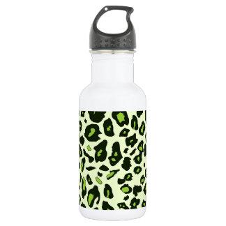 Estampado leopardo verde