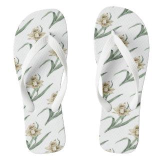 Estampados de flores del narciso