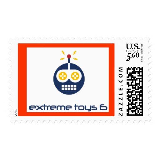 estampillas extreme toys sellos