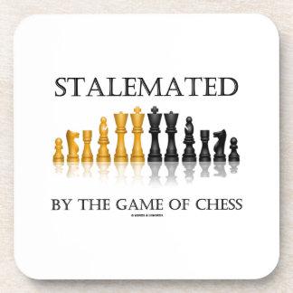 Estancado por The Game del ajedrez (ajedrez Posavasos De Bebida