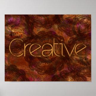Estancia creativa por Mansa Pryor Póster