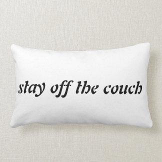 Estancia del sofá cojín