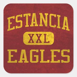 Estancia Eagles Athletics Square Sticker