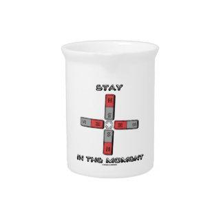 Estancia en el momento momento de tetrapolo magné jarras de beber