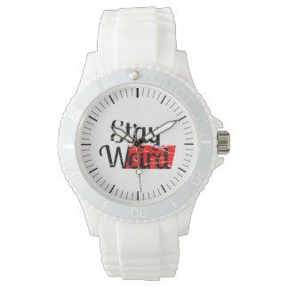 Estancia extraña relojes de pulsera