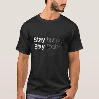 Estancia hambrienta. Estancia absurda. Camisa de