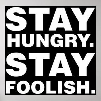 Estancia hambrienta. Estancia absurda Póster
