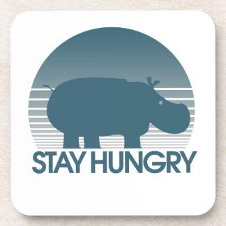 Estancia hambrienta posavasos