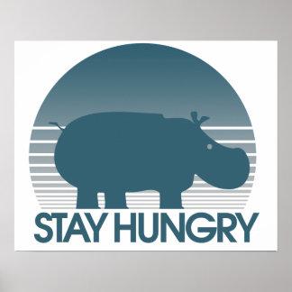 Estancia hambrienta póster