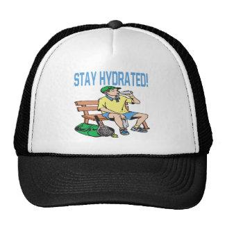 Estancia hidratada gorro