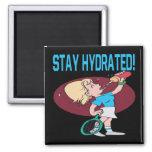 Estancia hidratada imán cuadrado