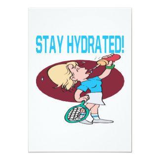 Estancia hidratada invitación personalizada