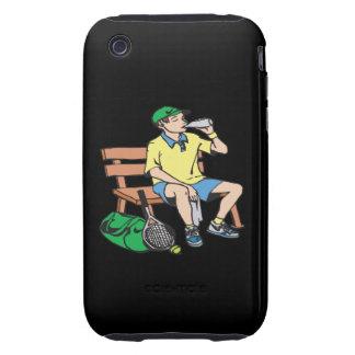 Estancia hidratada iPhone 3 tough cárcasas