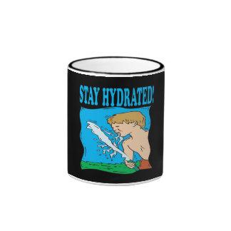 Estancia hidratada tazas