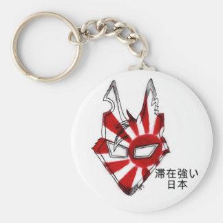 Estancia Japón fuerte Llavero Redondo Tipo Pin