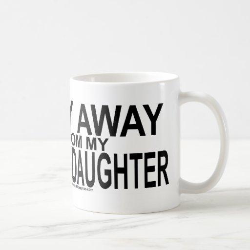 Estancia lejos de mi nieta taza de café
