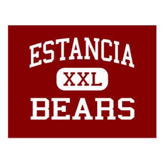 Estancia - osos - centro - Estancia New México Postal