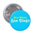 Estancia San Diego con clase Pin Redondo 2,5 Cm