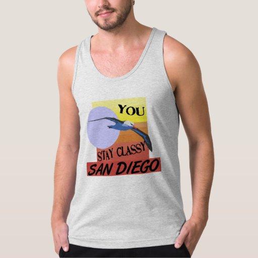 Estancia San Diego con clase Playera De Tirantes American Apparel De Jersey Fin