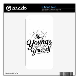estancia SS jovenes Skins Para iPhone 4S