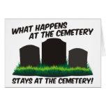 Estancias en el cementerio felicitaciones