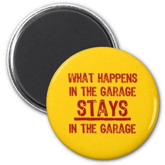 Estancias en el imán del garaje