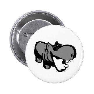 Estándar, botón redondo de la pulgada de 2 ¼ - pin redondo de 2 pulgadas