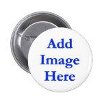 Estándar, botón redondo de la pulgada de 2 ¼ pins