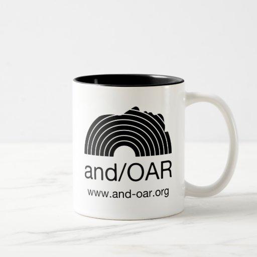 estándar de and/OAR Taza De Café