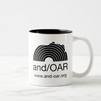 estándar de and/OAR Taza De Dos Tonos