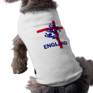 Estándar de Inglaterra y cruz reales de San Jorge Playera Sin Mangas Para Perro