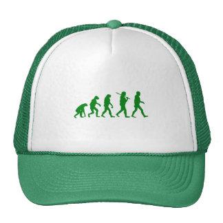 Estándar de la evolución - verde gorras