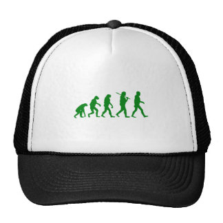 Estándar de la evolución - verde gorro