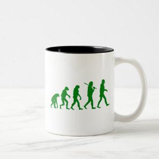 Estándar de la evolución - verde taza