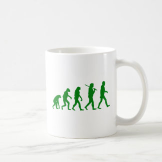 Estándar de la evolución - verde taza clásica