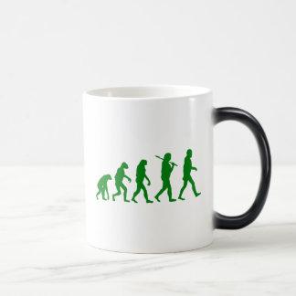 Estándar de la evolución - verde taza mágica
