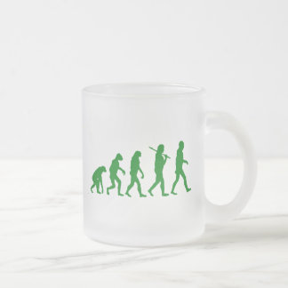 Estándar de la evolución - verde tazas