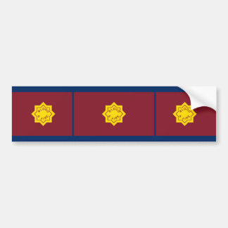 Estándar del Ejército de Salvamento bandera relig Pegatina De Parachoque