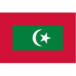 Estándar presidencial de los Maldivas, Malasia Fotoescultura Vertical