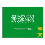 Estándar real bandera de la Arabia Saudita, la Ara Postal