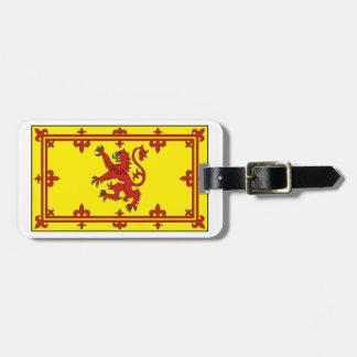 Estándar real de Escocia Etiqueta De Equipaje